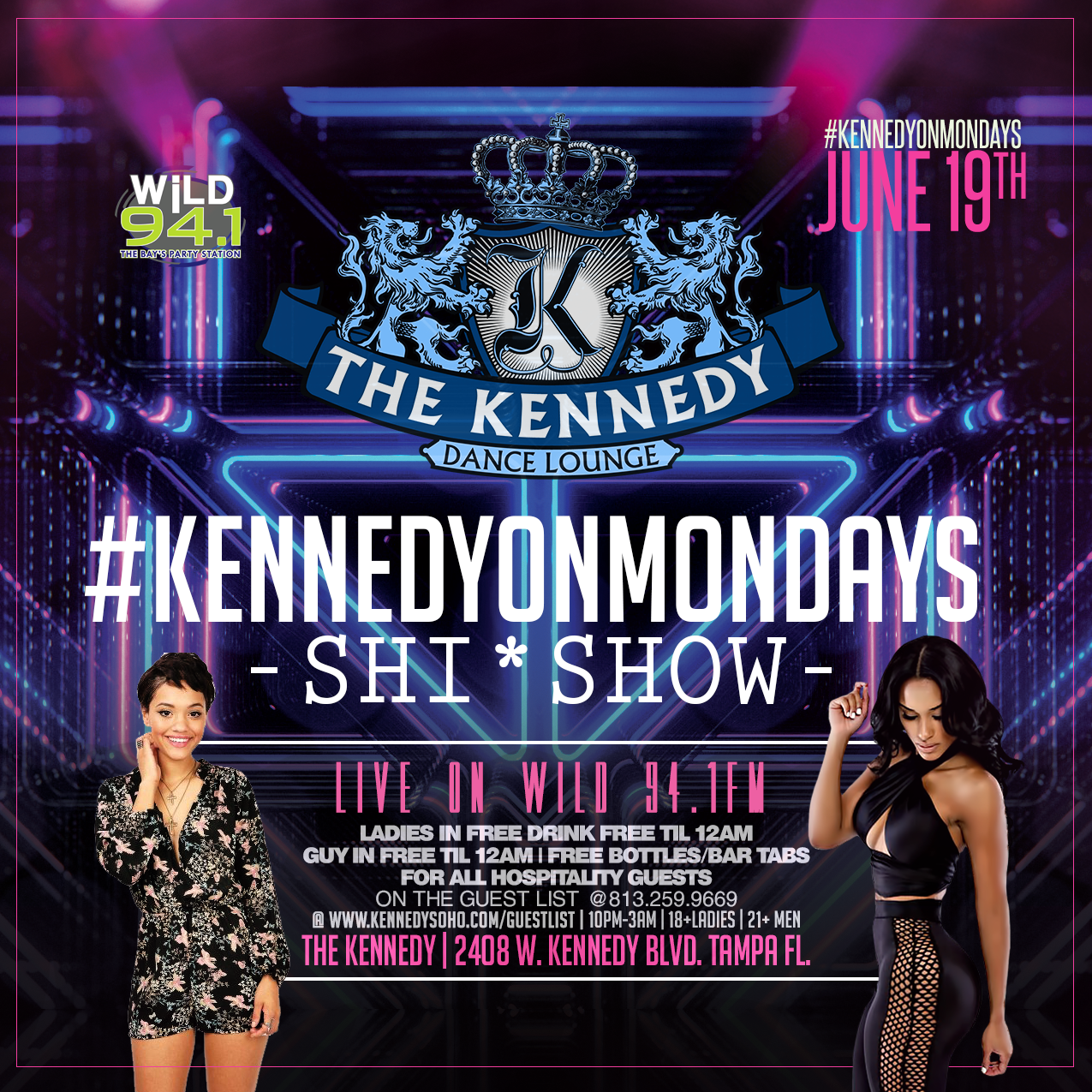 The Kennedy - Tampa Bay's Best Nightclub Experience
