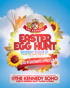KENNEDY-EASTER-SAT-MARCH-31ST