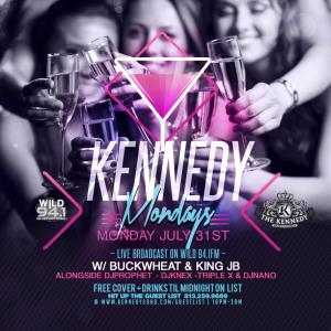 KENNEDY-MONDAY-JULY-31ST