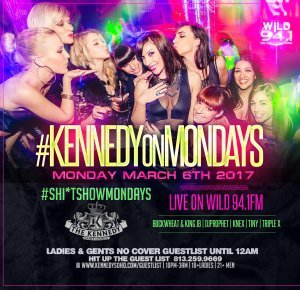 KENNEDY MONDAY MARCH 6TH