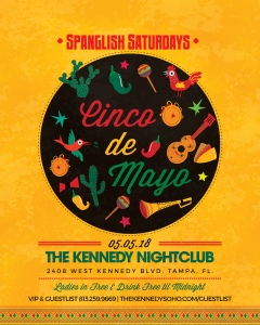 KENNEDY-SATURDAY-MAY-5TH-CINCO-DE-MAYO