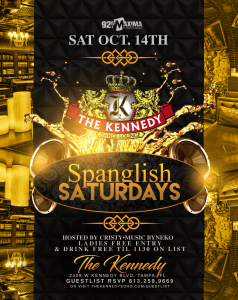 KENNEDY-SATURDAY-OCT-14TH