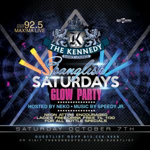 KENNEDY-SATURDAY-OCT-7TH