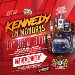 KENNEDY-MONDAY-JULY-24TH