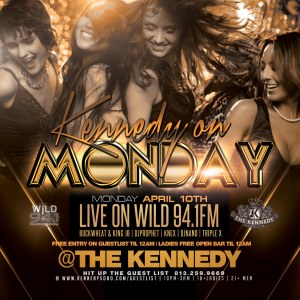 KENNEDY-MONDAY-APRIL-10TH