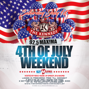 KENNEDY-SATURDAY-JULY-1ST-WEEKEND
