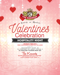 KENNEDY-MONDAY-FEB-12TH-VALENTINES