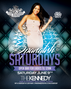 KENNEDY-SATURDAY-JUNE-9TH