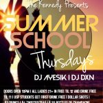 SUMMER SCHOOL THURSDAYS