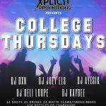 College Thursdays Oct 3